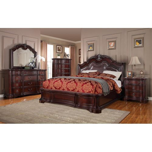 Found it at Wayfair - Lavon Lake Panel Customizable Bedroom Set