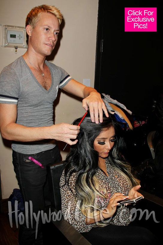 Snooki Gets Serious Extensions Can You Believe The Length