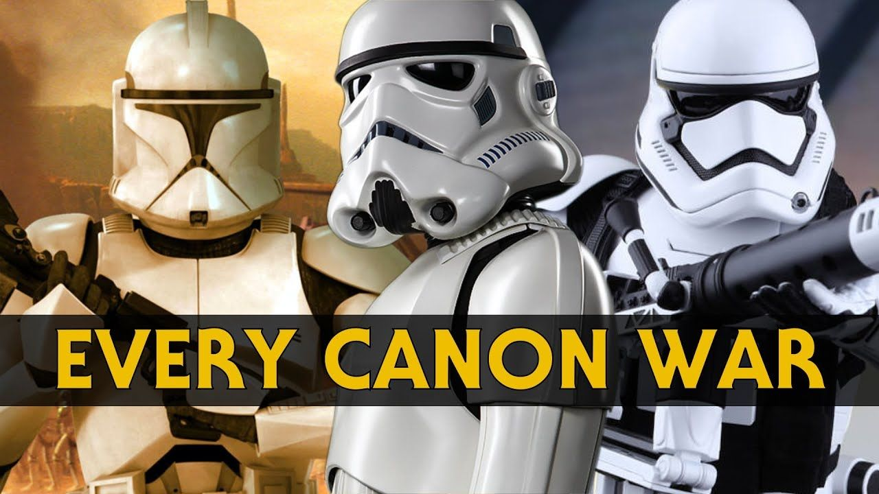 Every War in Star Wars Canon