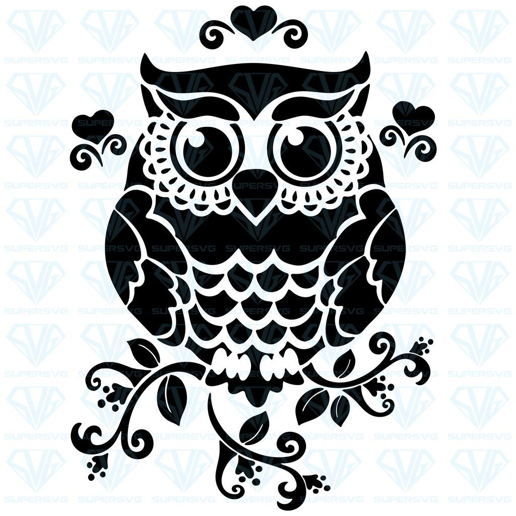 10+ Fall Owls Svg, Png, Eps, Dxf, Cut File Design