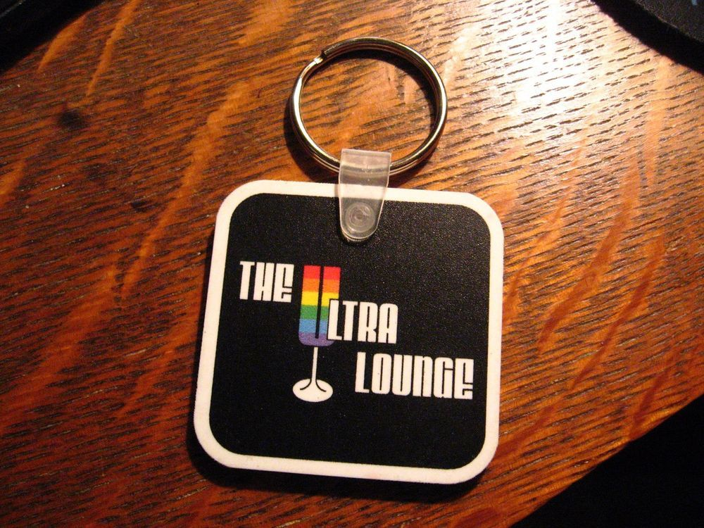 Ultra Lounge Kechain - Cocoa Village Florida Gay Bar Pride LGBT Queer  Keyring #TheUltraLounge