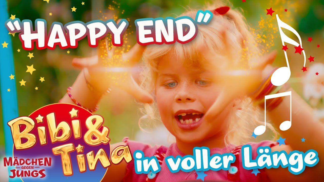 Happy End Offizielles Musikvideo In Voller Lange Aus Bibi Tina Madch Madchen Gegen Jungs Musikvideos Bibi Und Tina