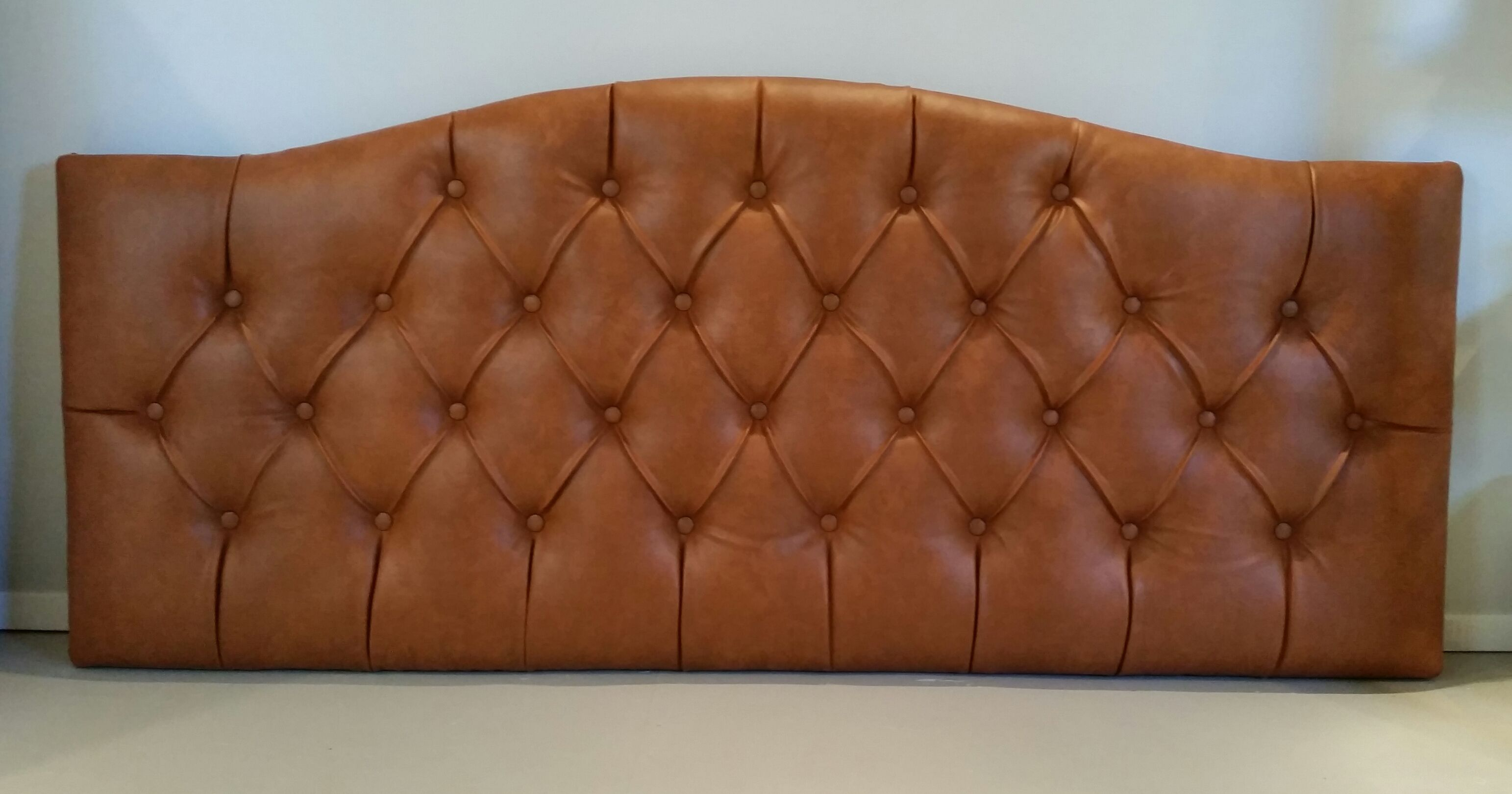 second nailhead and king custom shop headboard off wood white hand leather used headboards tufted
