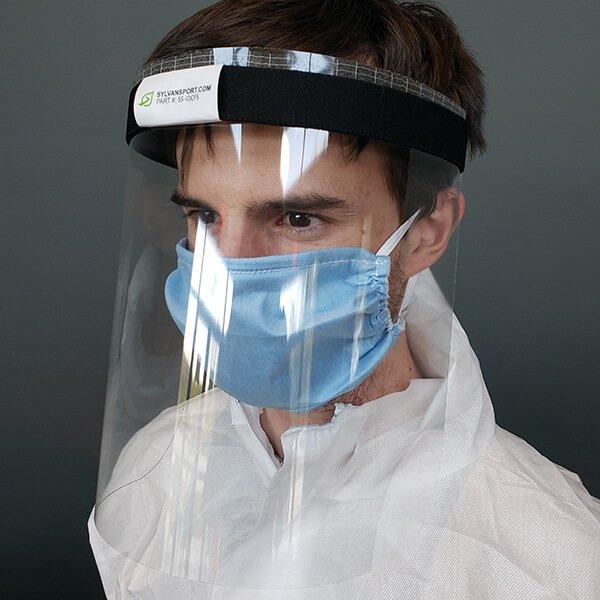 Infectious Disease Control Face Shield PPE (10pk