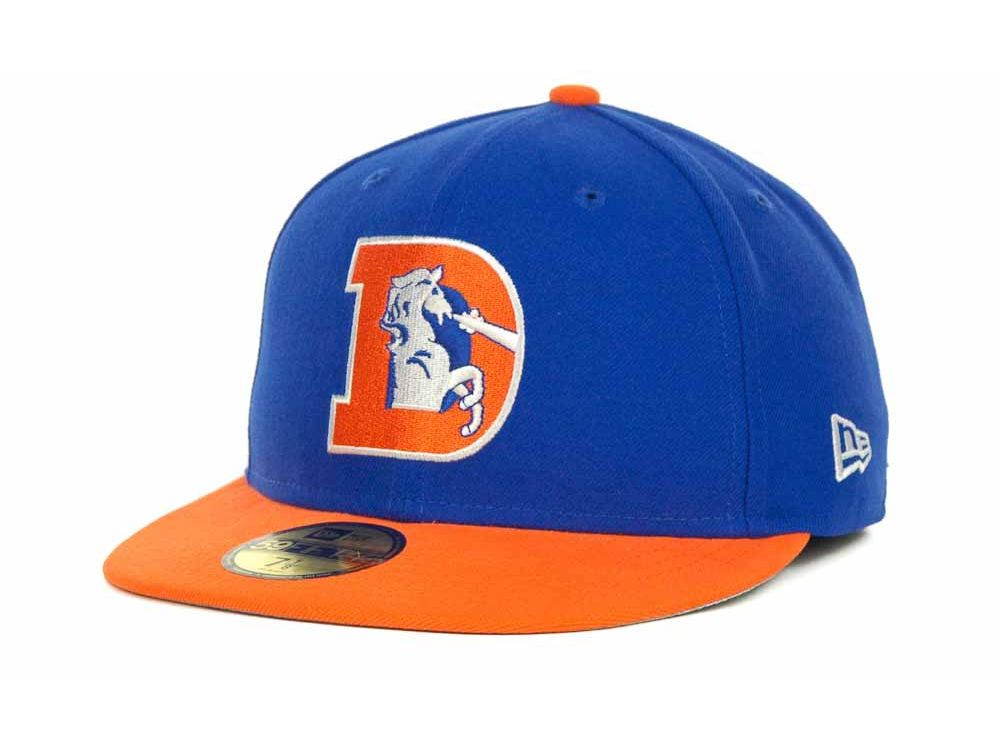 official photos 92413 fccef ... authentic denver broncos new era nfl historic basic 59fifty cap 58c2b  e38f2