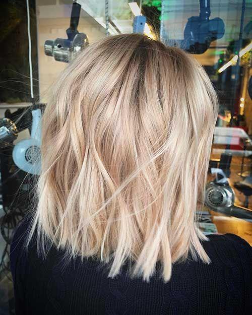 35+ Auffallende Kurzhaarideen für Blondies - Einfache Frisur