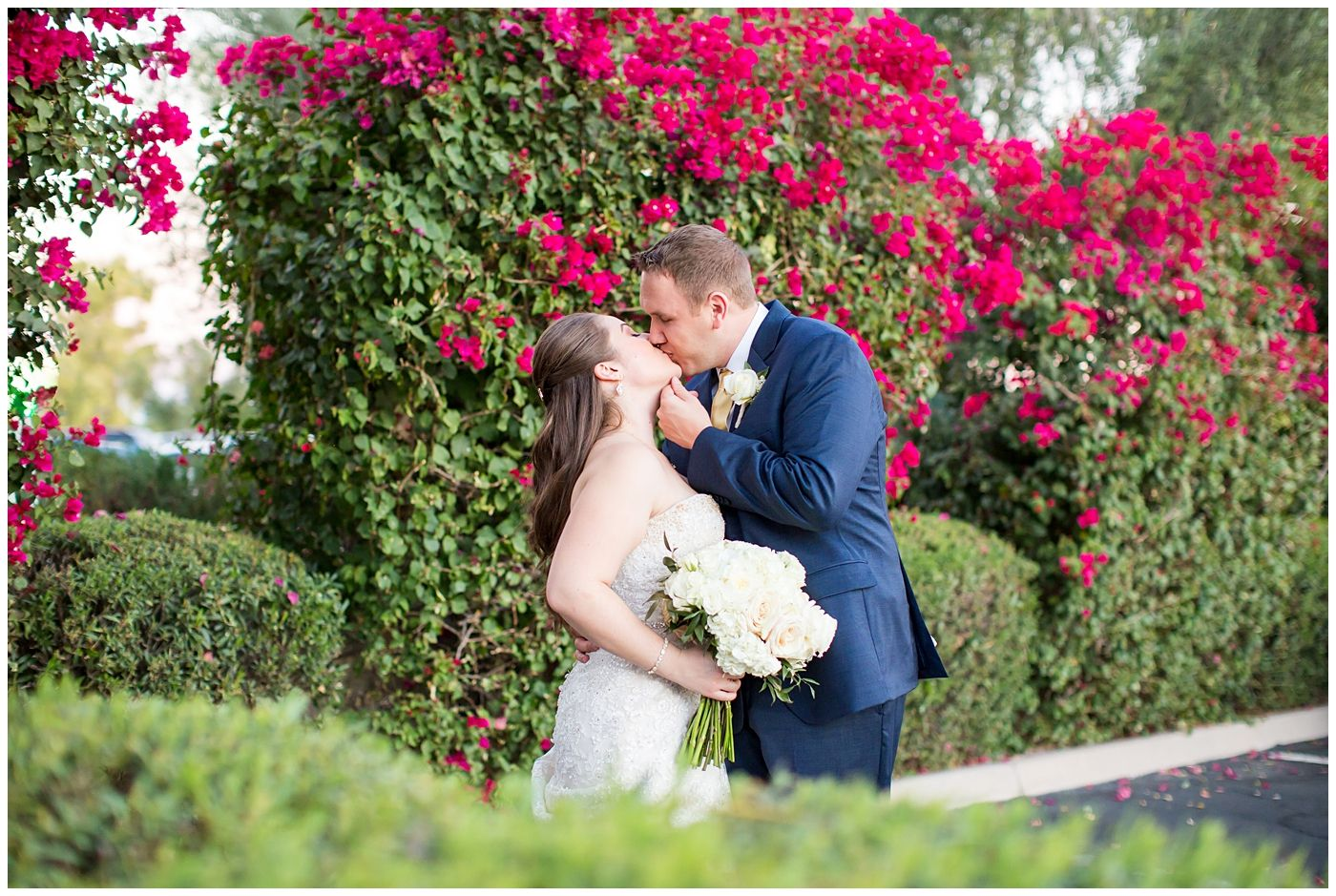 Classic romantic wedding at mccormick ranch bride u groom