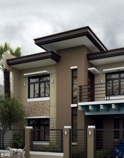 27 Stunning Modern Dream House Exterior Design Ideas Philippines House Design Facade House Modern Bungalow House