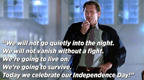 Bill Pullman: My Iconic Speech Saved Independence... - Tom Butler ...