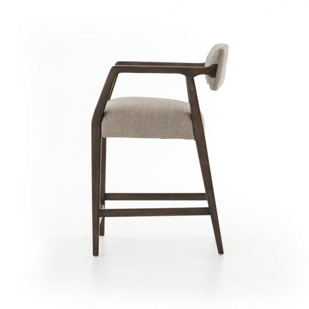 Strange Tyler Counter Stool Ives White Grey Furntiure Design Caraccident5 Cool Chair Designs And Ideas Caraccident5Info