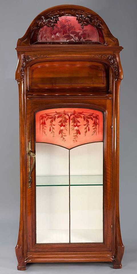 Jacques Gruber Art Nouveau Cabinet Art Nouveau Design Art Nouveau Furniture Art Nouveau