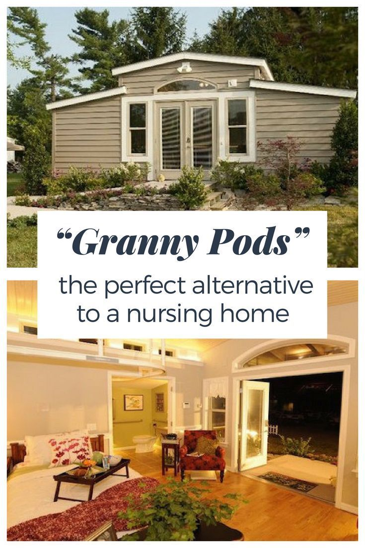 These granny pods are the best alternative to moving