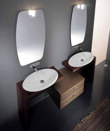 Same wall color as our bathroom valspar almost charcoal for Charcoal grey bathroom accessories