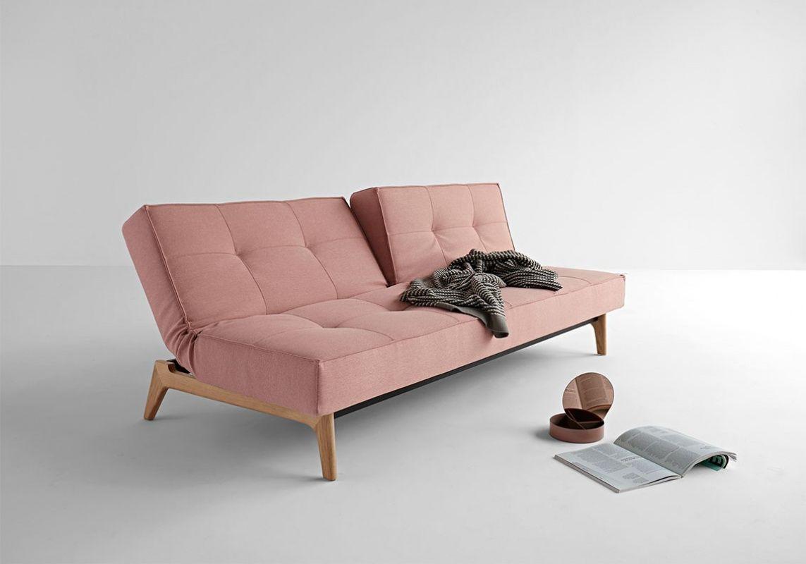 Sofa Rozkladana Splitback Eik Z Drewnianym Stelazem Innovation