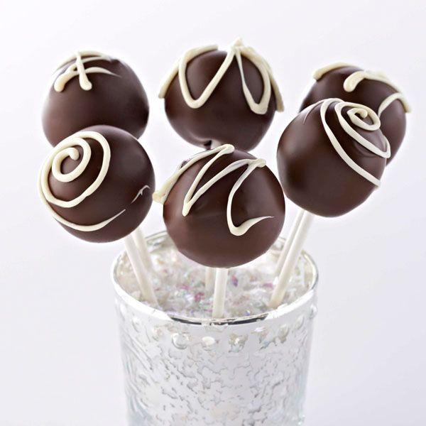 Ghirardelli Triple Chocolate Cake Pops Recipe