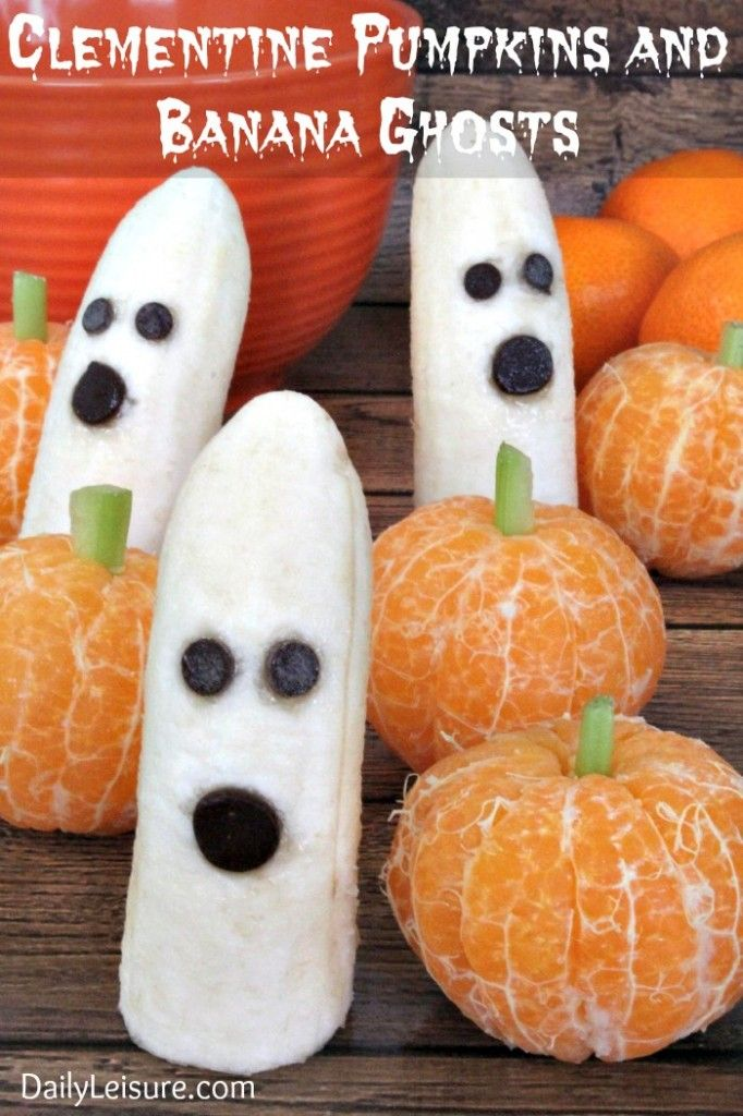 Saturday Night Funny Video Who Is Joe Biden? Banana ghosts - halloween treat ideas for school parties