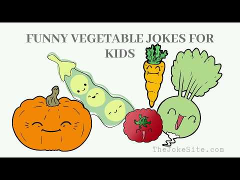 Super Cute And Funny Vegetable Jokes For Kids Youtube Thejokesite Com Jokes For Kids Funny Vegetables Jokes