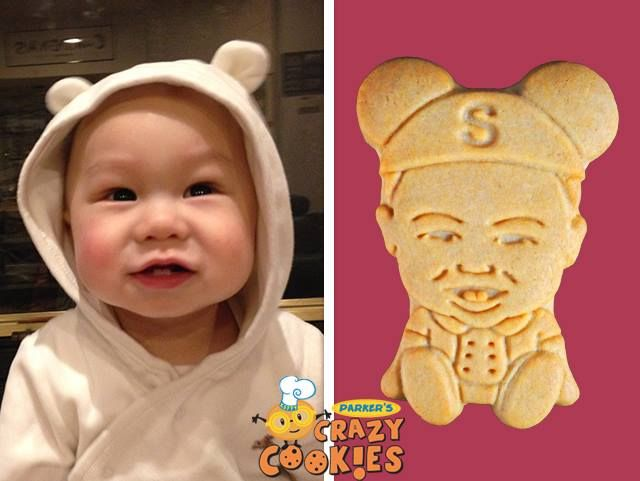 For baby's 1st birthday, order Parker's Crazy Cookies and watch the smiles multiply...so yummy and adorable...and low in sugar!