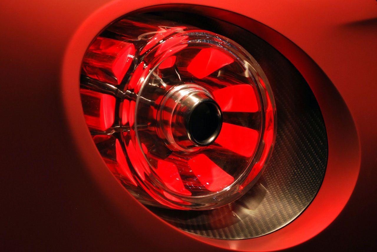 Alfa Romeo 4c Concept At Geneva Live Photo Taillight Details Tail Lights Closer View
