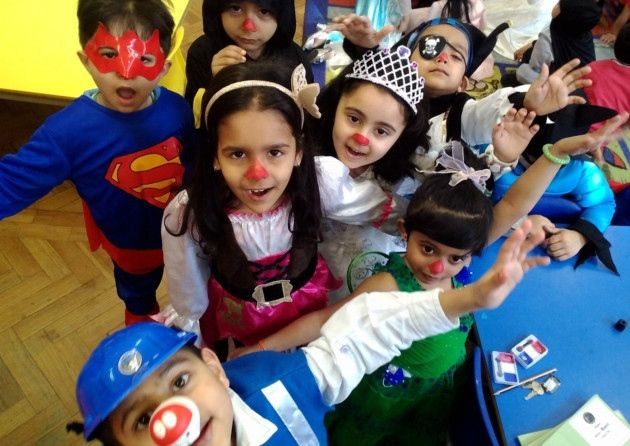Pictures: Spot yourself! Newham schools celebrate Red Nose Day Red Nose Day 2015 #RedNoseDay2015