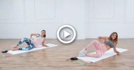 10-Minute No-Squat Booty Workout With Love Sweat Fitness #fitness