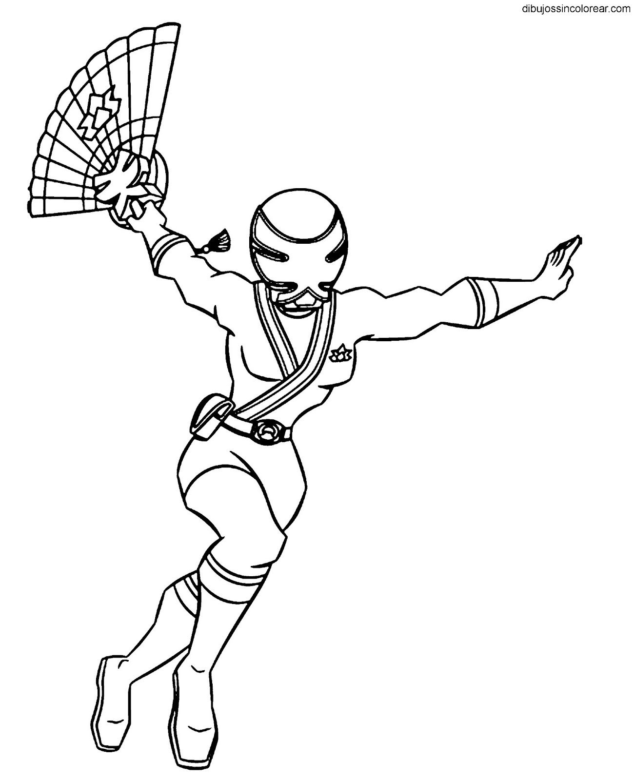 Excepcional Libre Power Ranger Para Colorear Ilustración - Ideas ...
