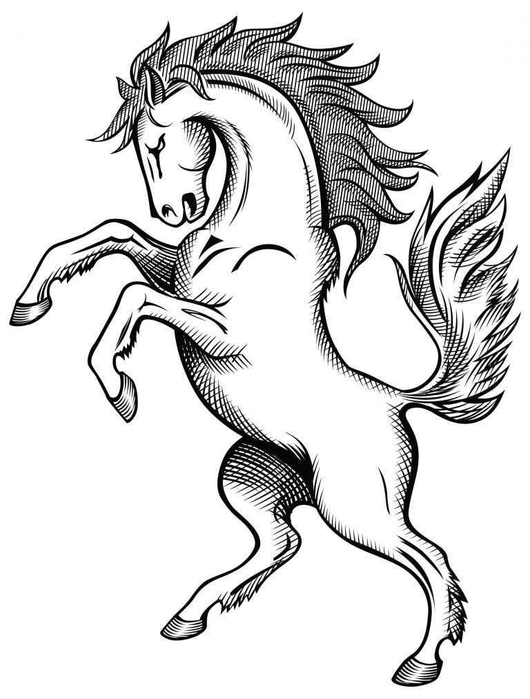 De Desenat Aletzsa S Blog Con Imagini Cu Animale Domestice De Colorat E Sfatulparintilor Ro Desenecolorat Cal Horse Coloring Pages Horse Drawing Horse Drawings