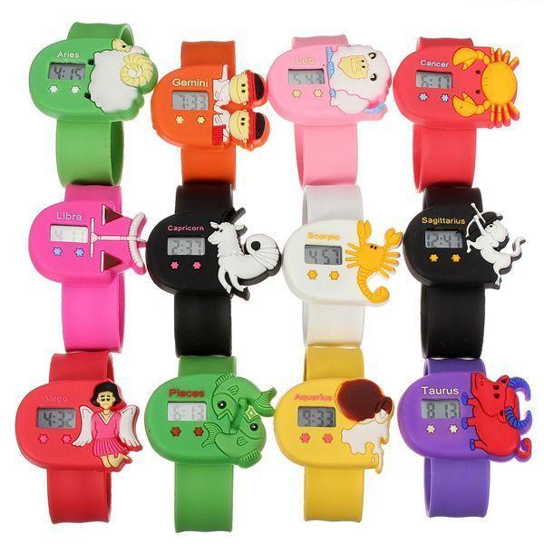Children 8217 S Watches Canada The Twelve Constellations Electronics Cartoon Pops Watch Childrens Dress Lego