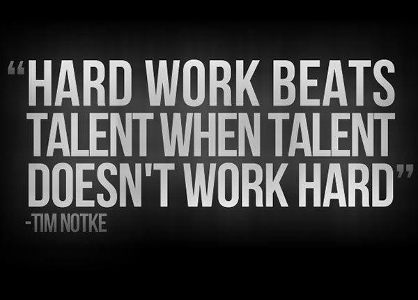 Hard Work Beats Talent Quote Quotehardworkbeatstalentwhentalentdoesntworkhard .