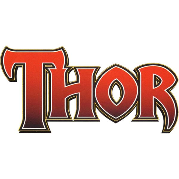 thor vol 3 logo png liked on polyvore featuring avengers marvel rh pinterest com thor comic one Thor Comic Portrait