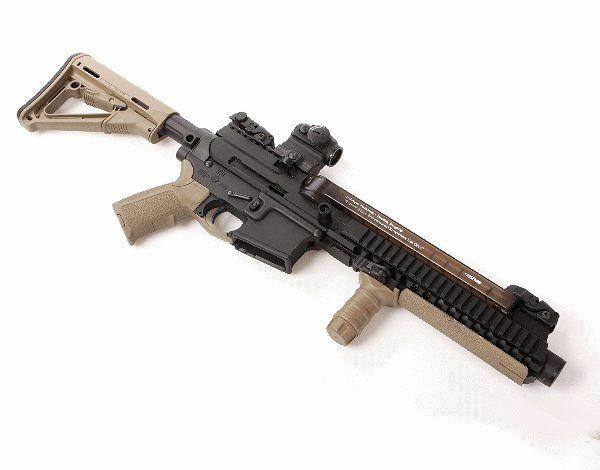 Different type of 5.7X28 AR-15 -- gas operated. - AR15.COM