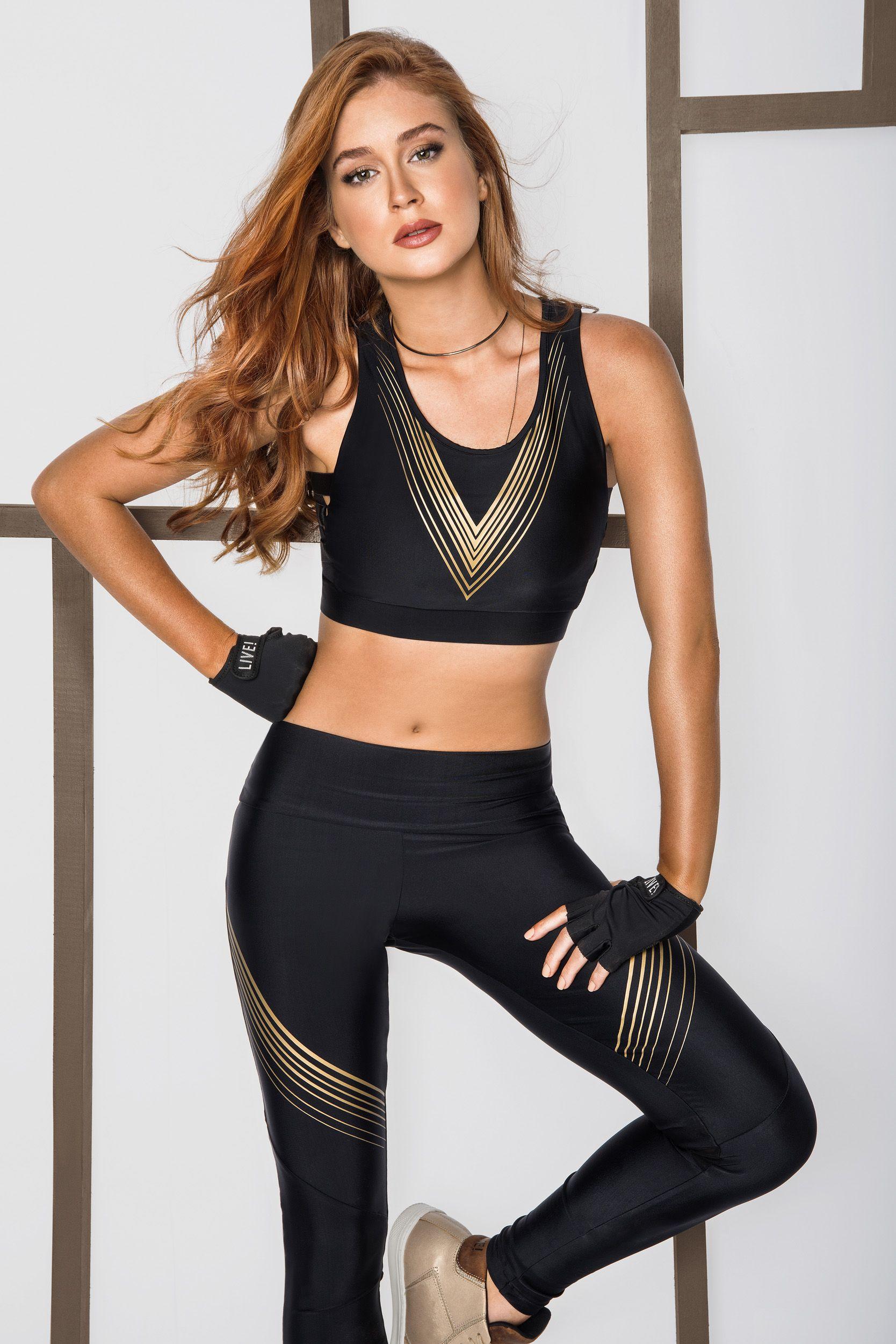 6cc98b725 LIVELINESS 2018 FITNESS com Marina Ruy Barbosa Exercícios Fitness