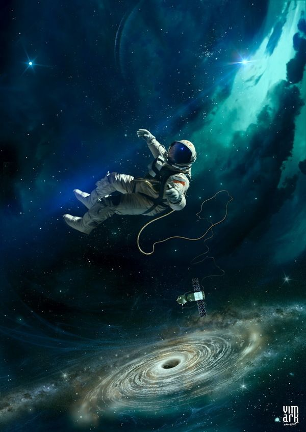 astronaut in outer space - photo #18