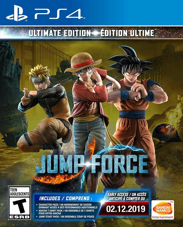 Jump Force For Playstation 4 Playstation Ps4 Jogos