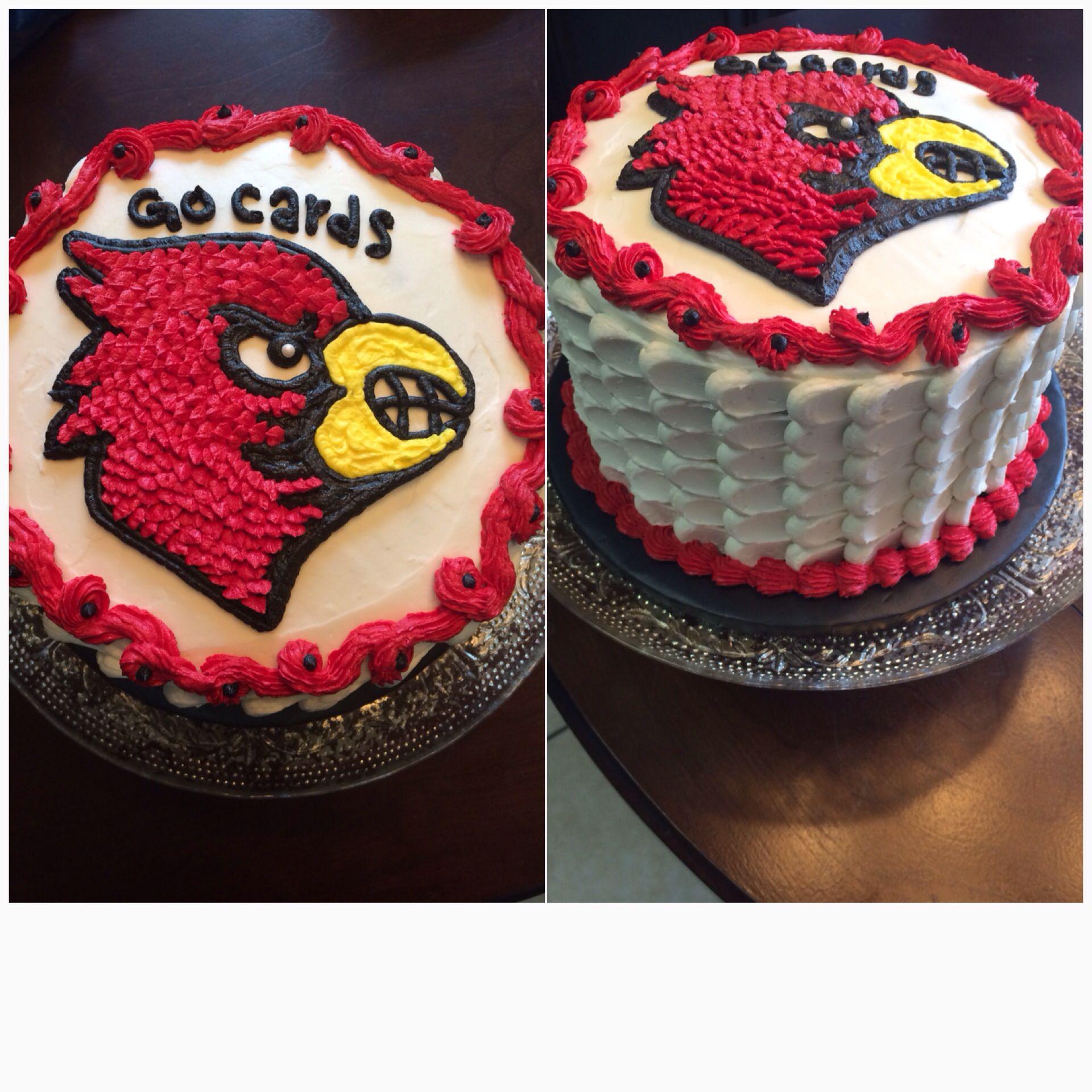 Louisville Cardinals Cake Order Cake Cake Diy Cake