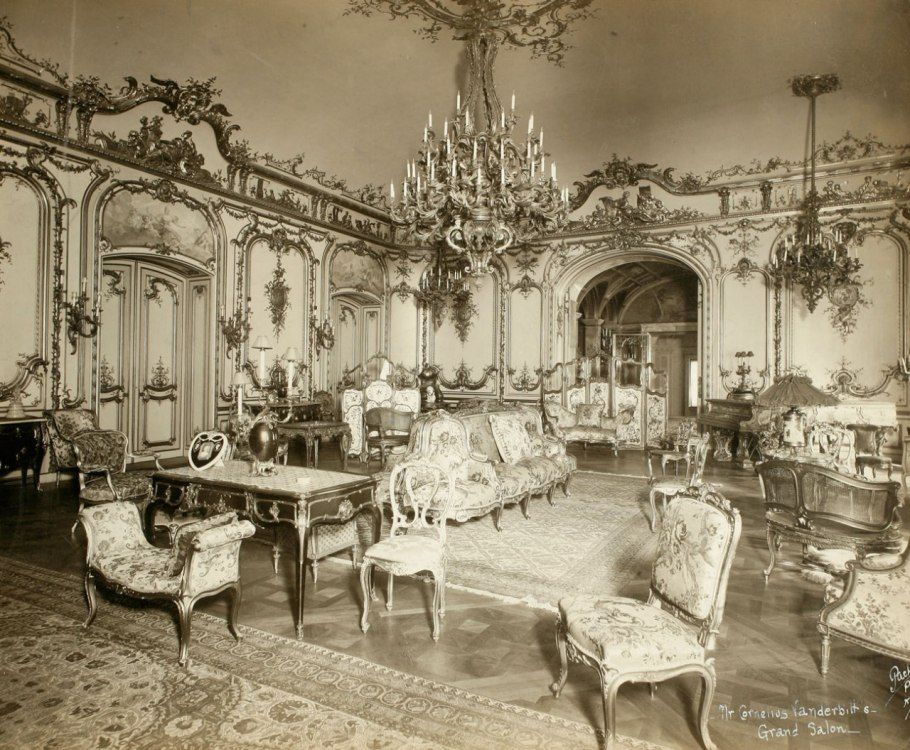 Grand salon cornelius vanderbilt ii house 1894 at fifth for 57th street salon