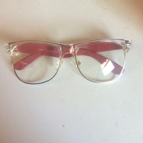 17668666b5 Non prescription nerd glasses So cute and in good condition! Accessories  Sunglasses