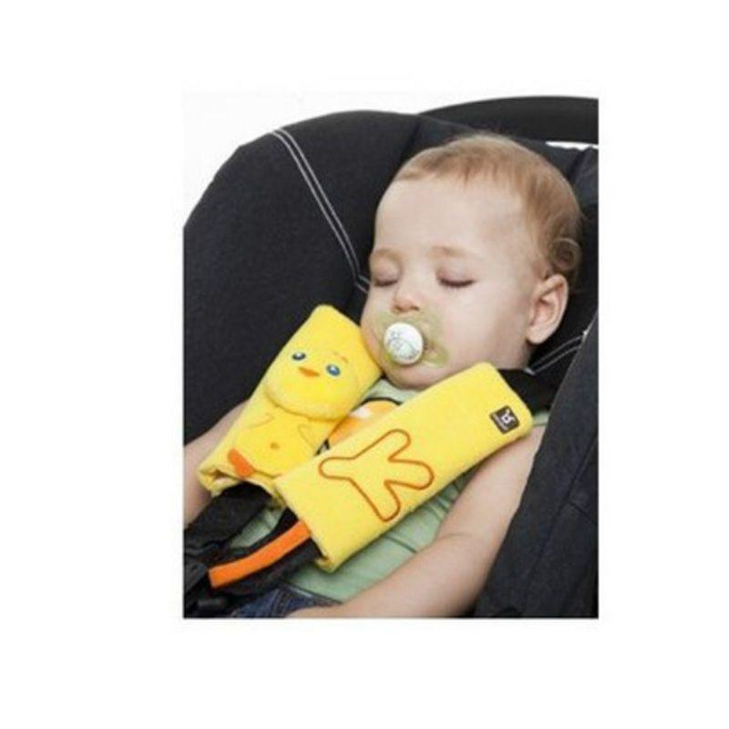 Mambobaby 아기 유모차 액세서리 아기 자동차 좌석 벨트 목 보호 커버 베개 유모차 스트랩 유모차 어깨 패드