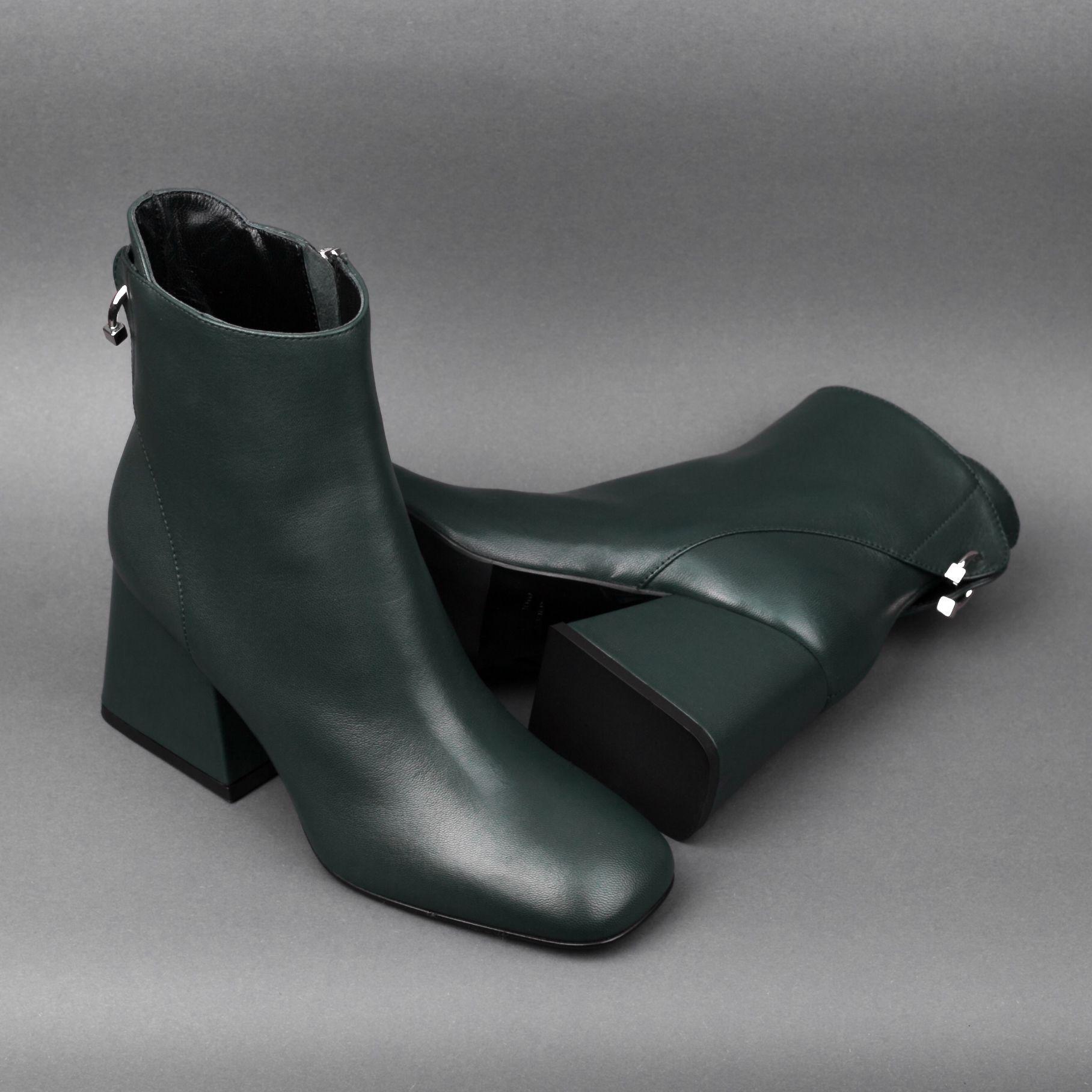8166b8e68 ИТАЛЬЯНСКАЯ КОЛЛЕКЦИЯ Женские стильные ботинки на низком устойчивом  каблуке! В цвете хаки выглядит еще элегантнее!