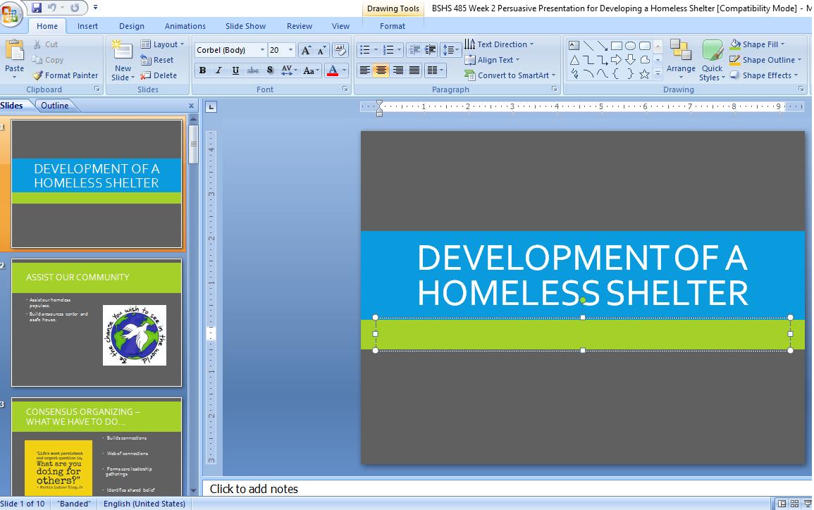 Bshs 485 week 2 persuasive presentation for developing a homeless bshs 485 week 2 persuasive presentation for developing a homeless shelter baditri Image collections