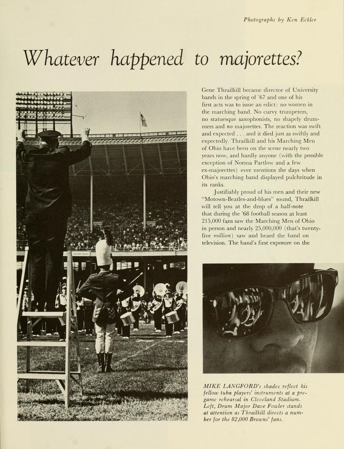 The Ohio Alumnus January February 1969 Whatever Happened To