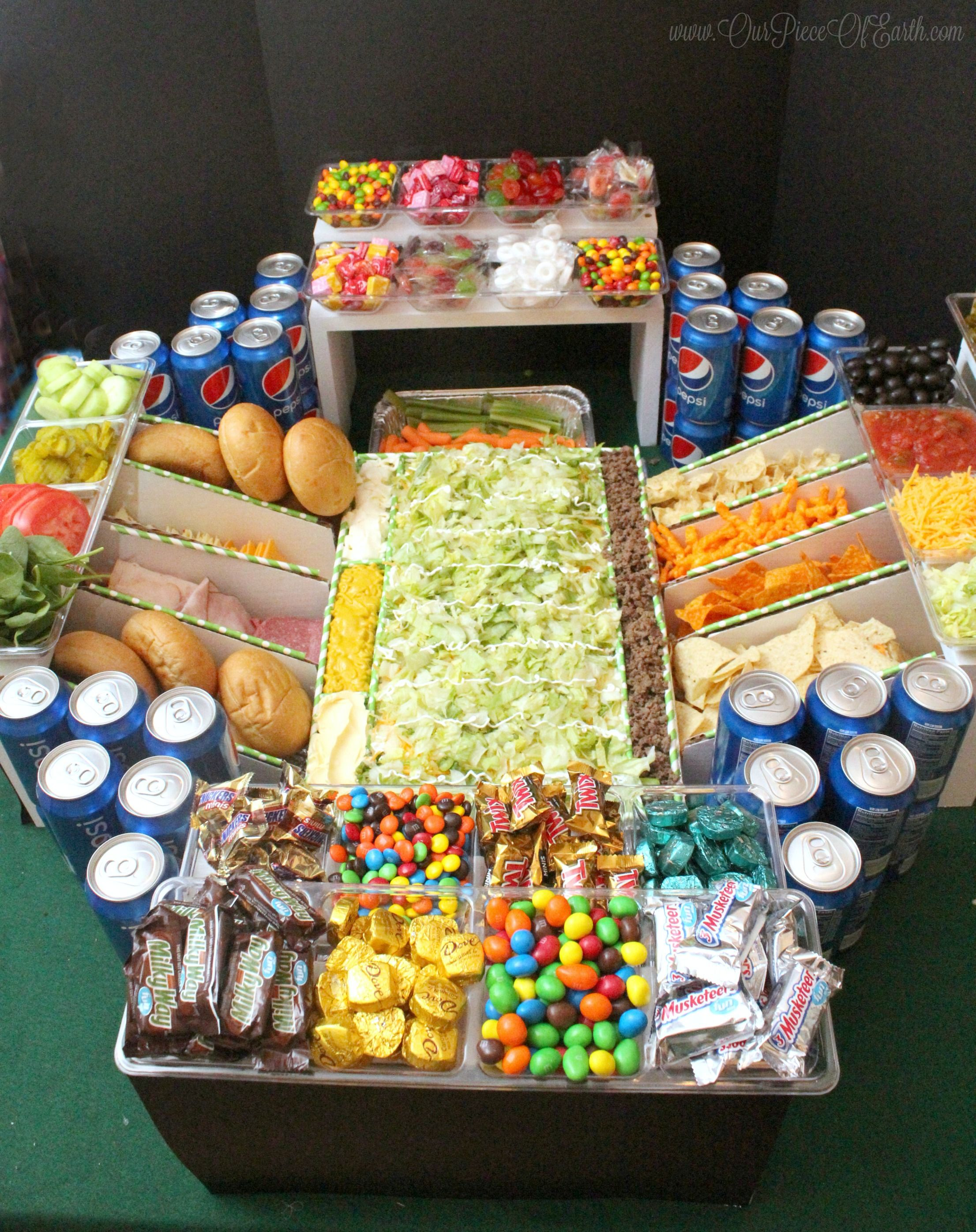 Discover how to build the ultimate snack stadium Snack