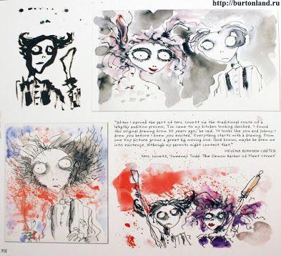 EeME: Mais algumas artes de Tim Burton