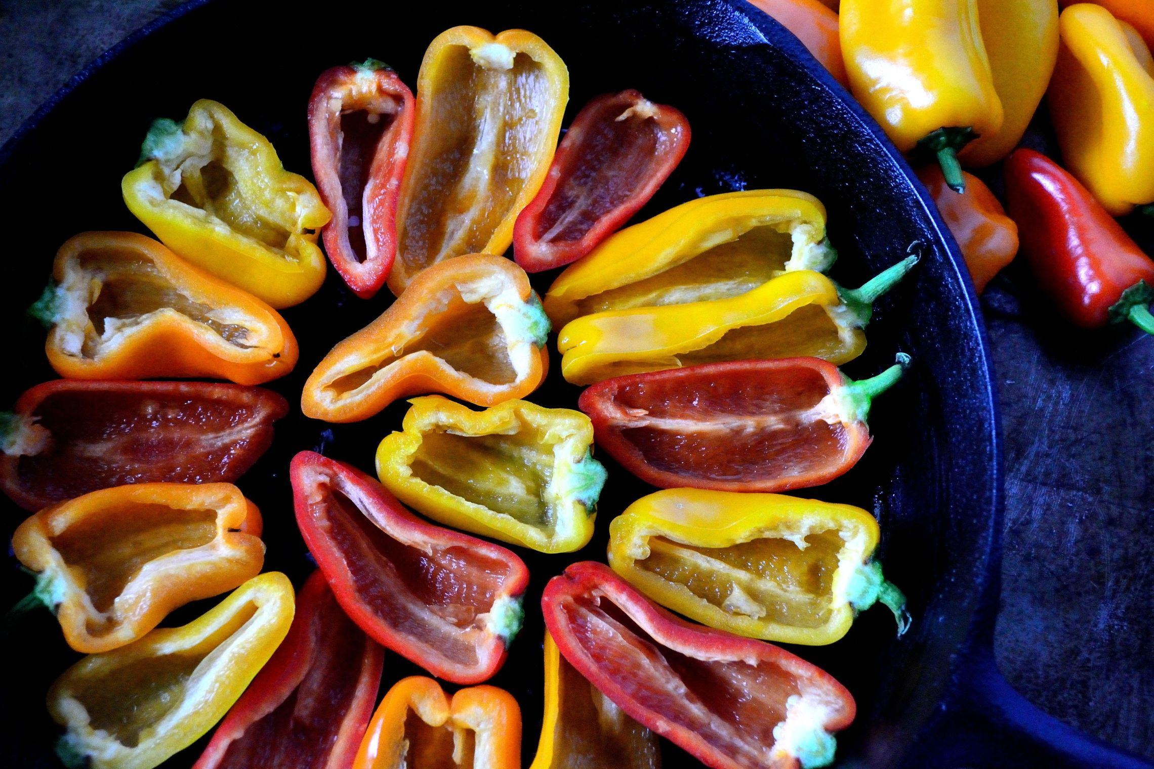 Keto loaded bell pepper nachos coop can cook recipe