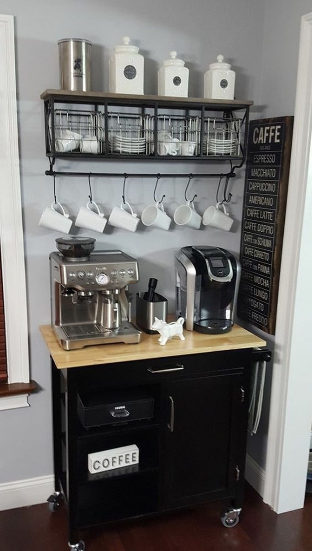30+ Fantastic DIY Coffee Bar Ideas For Your Home