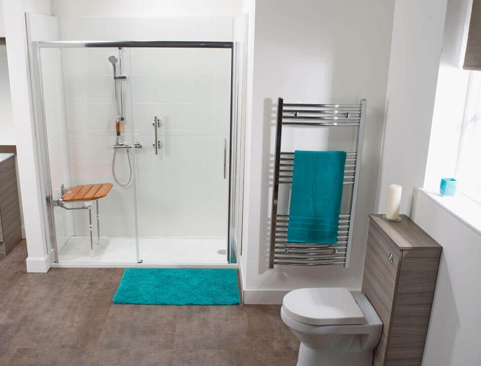 Image result for walk in shower with seat for elderly | Walk-in ...
