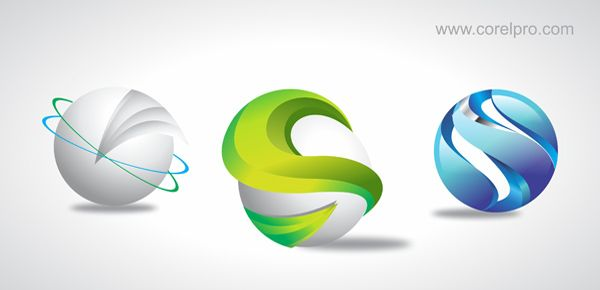 3D logo Templates in Corel draw format for Free Download Version ...