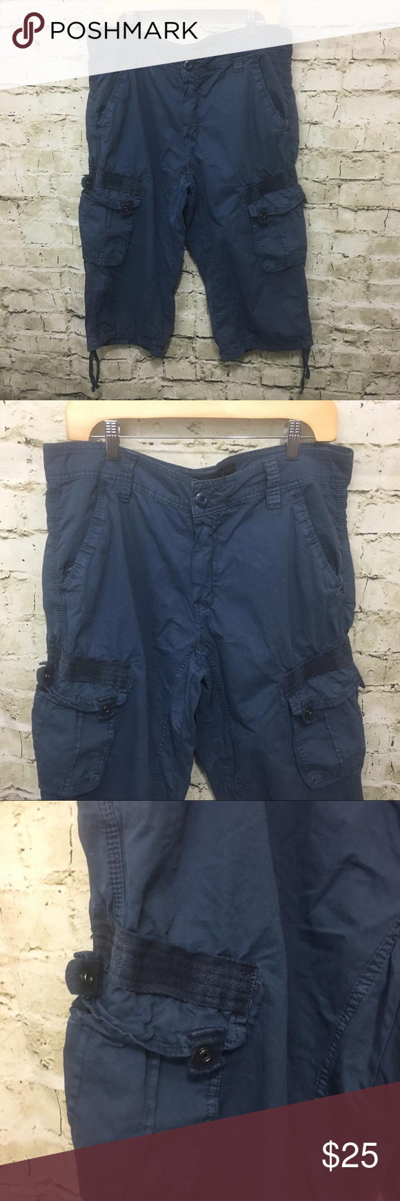 a63281975b XRAY Jeans Cargo Skater Shorts X-ray Jeans Women's Blue Cargo Skater Shorts  Capris Size 32 in gently used condition with no flaws.