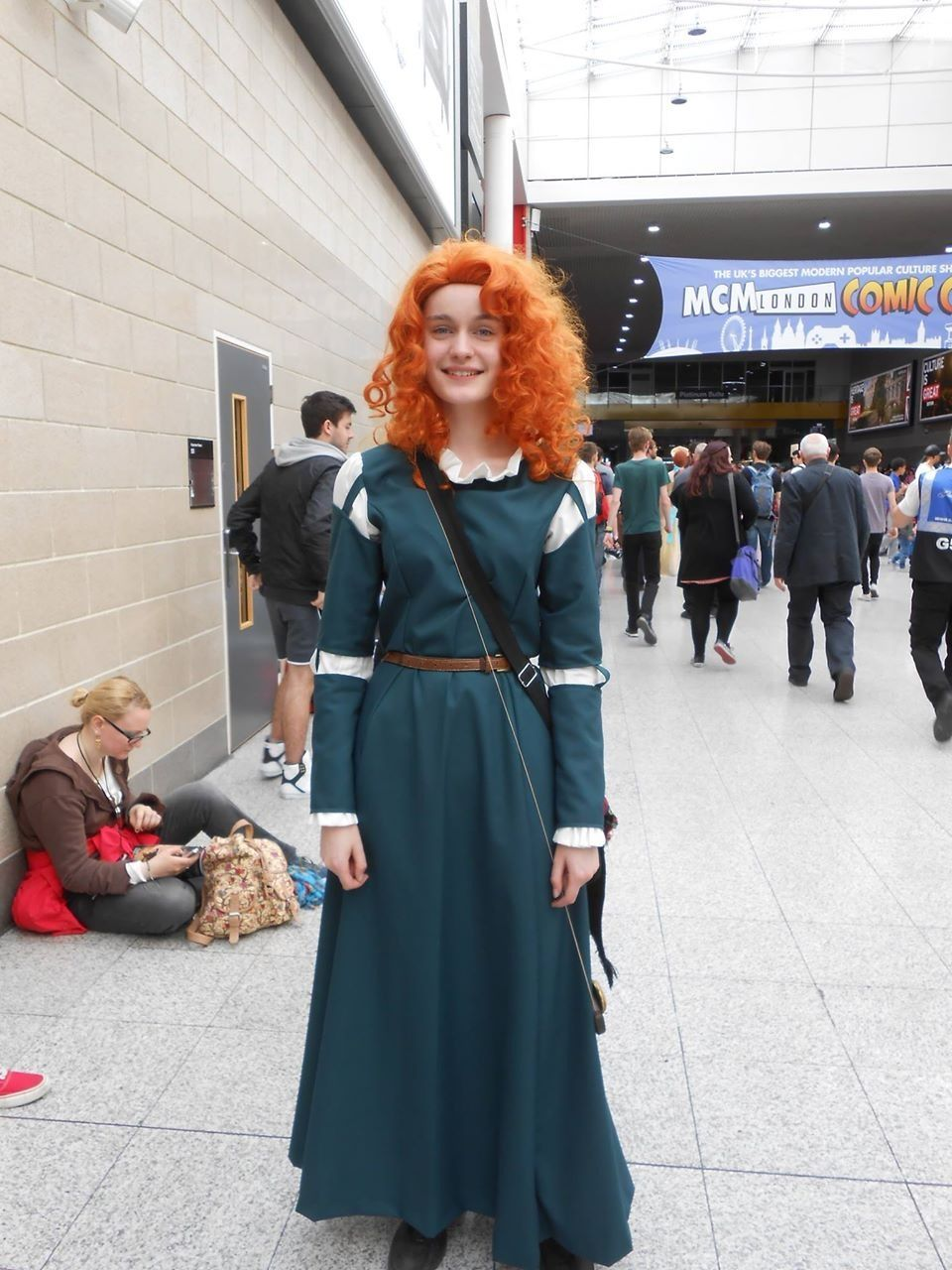 Merida Cosplay by Billie Thornton Archery Brave Comic Con