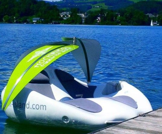 Chilli Island Is Half Lounge Chair And Half Watercraft For Awesome Fun On  The Water